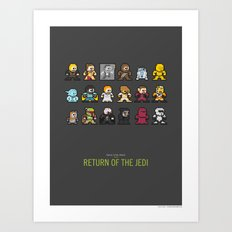Mega Star Wars: Episode IV - Return of the Jedi Art Print
