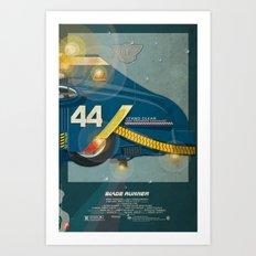 Spinner 995 III/III Blade Runner Art Print