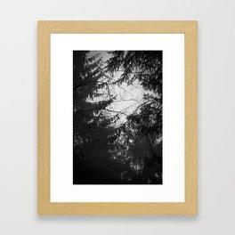 Les Étangs Fantomatiques II Framed Art Print