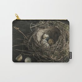 Forgotten nest with eggs Carry-All Pouch