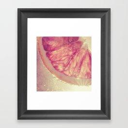 sunkist Framed Art Print