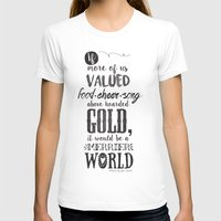 tolkien T-shirts featuring Tolkien quote by Pau Ricart