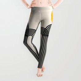 Abstraction_SUN_LINE_VISUAL_ART_Minimalism_02A Leggings