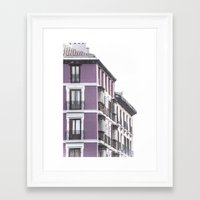 madrid Framed Art Prints featuring madrid by mirenphotography