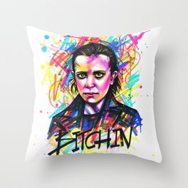 11 Bitchin Throw Pillow
