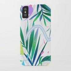 summer motel pattern iPhone X Slim Case
