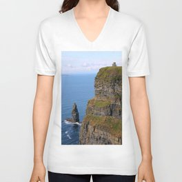The irish sea Unisex V-Neck