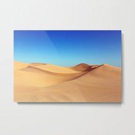 Sand Dunes Metal Print