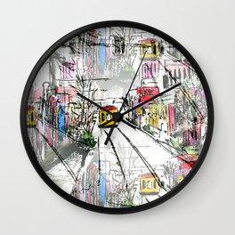 Main Street Wall Clock