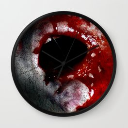 Bloody Mouth Wall Clock