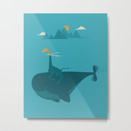 Nature's Submarine Metal Print