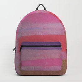 Thick Bronzed Stripes Backpack