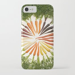 Carrot Color Wheel iPhone Case