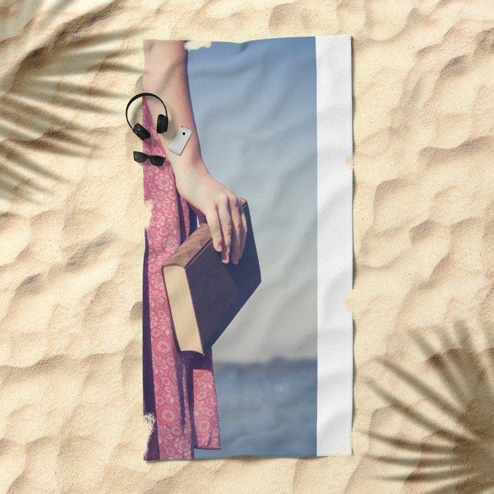 The Book Beach Towel