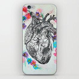 Flowering Heart iPhone Skin