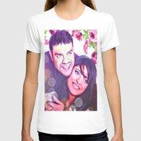 custom T-shirts featuring Custom commission by Raleenadrawings