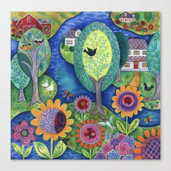 Summer Calling Canvas Print
