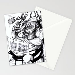 Inktober: Fat Stationery Cards