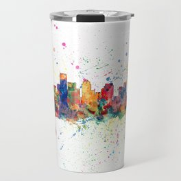 BostonSkyline Travel Mug