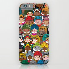 Happy kids iPhone 6s Slim Case