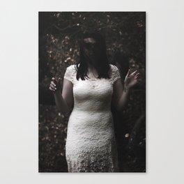 Zoe Ghost Canvas Print
