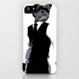 Manly iPhone Case
