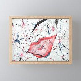 """""""Splatter"""" Framed Mini Art Print"""