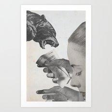 dark house Art Print