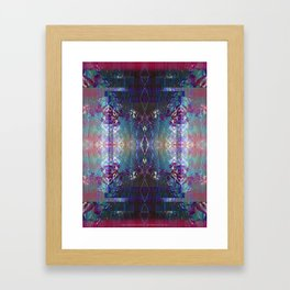 (Charging, Chanting Down) The Jungle Line Framed Art Print