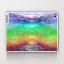 Chakra Activation Geometry Template Laptop & iPad Skin