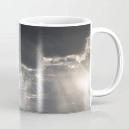 Sunbeams in the Stormy Sky Coffee Mug