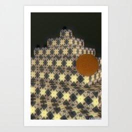 New Color Pyramide 2 Art Print
