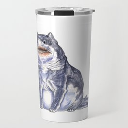 Great White Shark Cat :: Series 1 Travel Mug