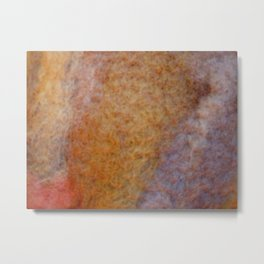 Rusty autumnal wool Metal Print