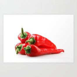Red Chili Pepper Art Print