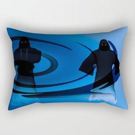 Three Ghosts Rectangular Pillow
