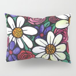Pitcher of Flowers Pillow Sham