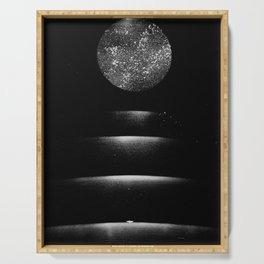 Staircase to the Moon Serving Tray