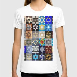Star of David Montage T-shirt