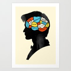 Doctor Phrenology Art Print