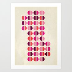 halfsies II Art Print