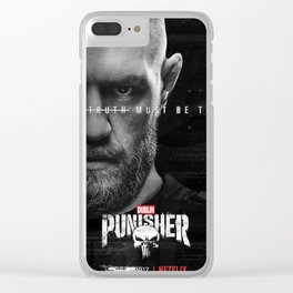 The Dublin Punisher ft. Conor McGregor Clear iPhone Case