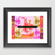 Cups of War Framed Art Print
