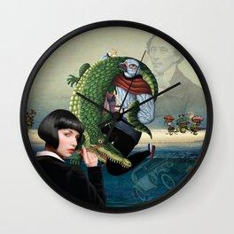 The Jewish Girl Wall Clock
