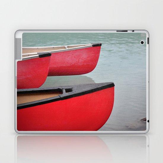Red Canoes Laptop & iPad Skin