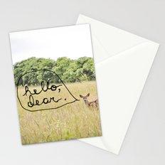 hello, dear Stationery Cards