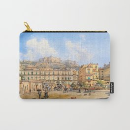 12,000pixel-500dpi - Franz Alt - View of the Piazza Vittoria, Naples - Digital Remastered Edition Carry-All Pouch