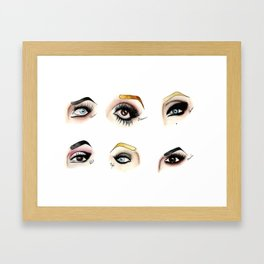 Eye see Drag Framed Art Print