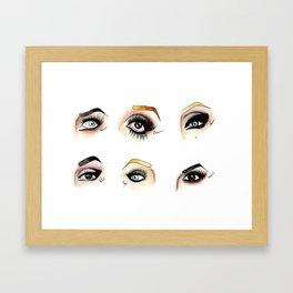 Eye see Drag Framed Art Print