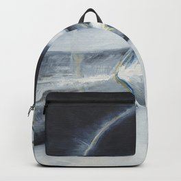Glass of the water in the light Backpack